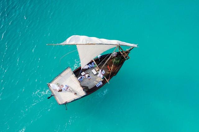 Wedding by Boat