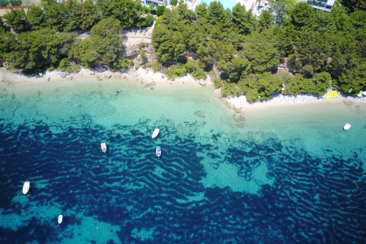 Bol Beach Hidden Spot, Brac Island, Croatia
