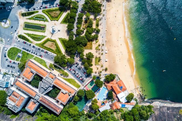 Red Beach or Praia Vermelha. RJ