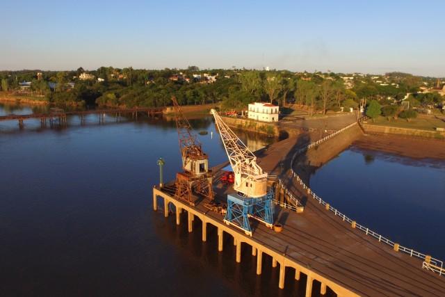 Puerto, Ciudad de Salto, Uruguay