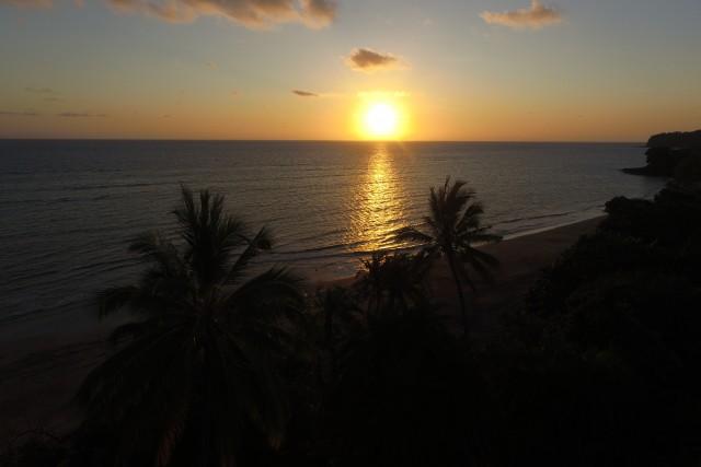 Sunset, Boueni's beach, Mayotte