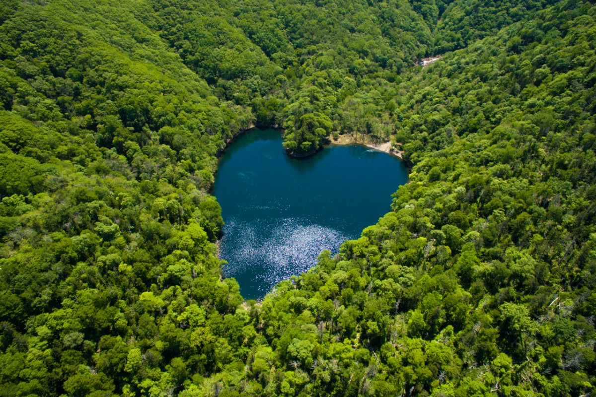 Lake Toyoniko (Heart shaped lake)