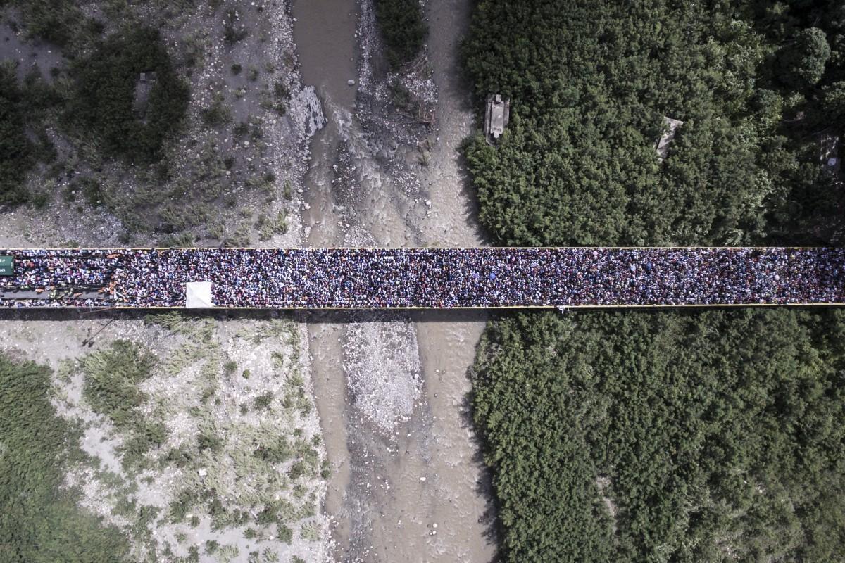 The reflection of Venezuela's reality