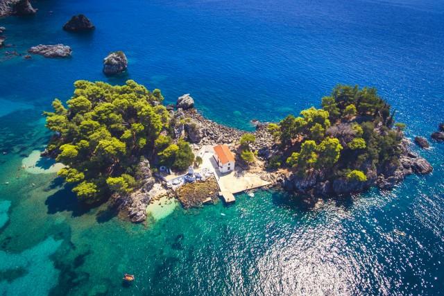 Panaghia island, Parga, Greece