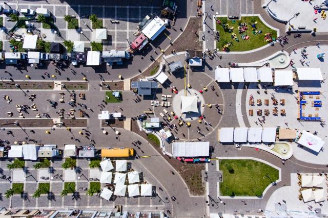 Food truck festival in Oradea
