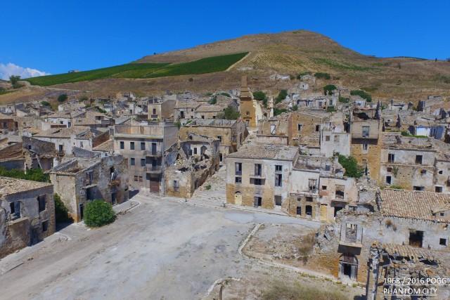 poggioreale TP Sicily earthquake 1968