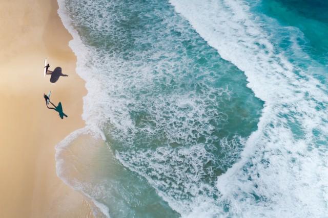Surf, Sun, And Sand