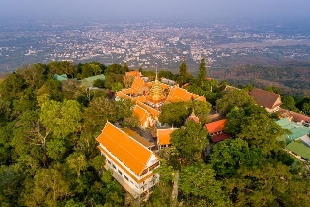 Sutep temple ,Chiangmai ,Thailand