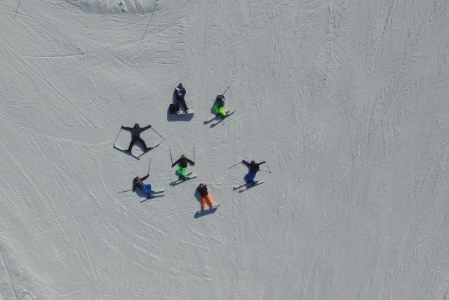 Mes amis au Ski