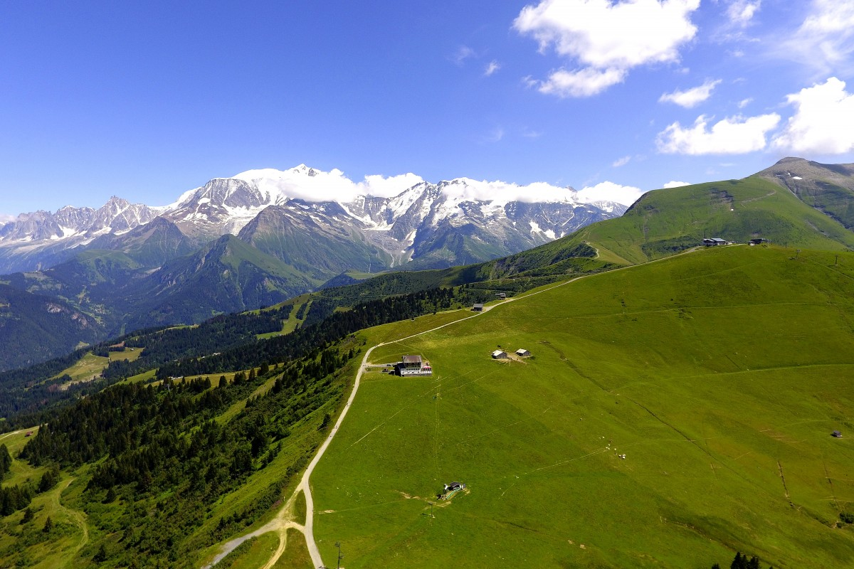 The Mont-Blanc in Summer