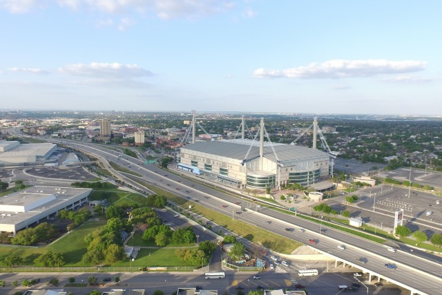 The Alamodome!