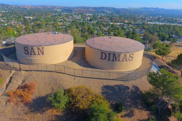 San Dimas Water Towers