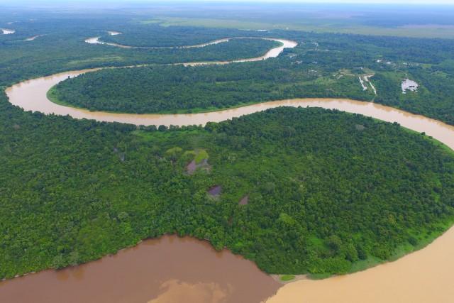 The River like a Snake