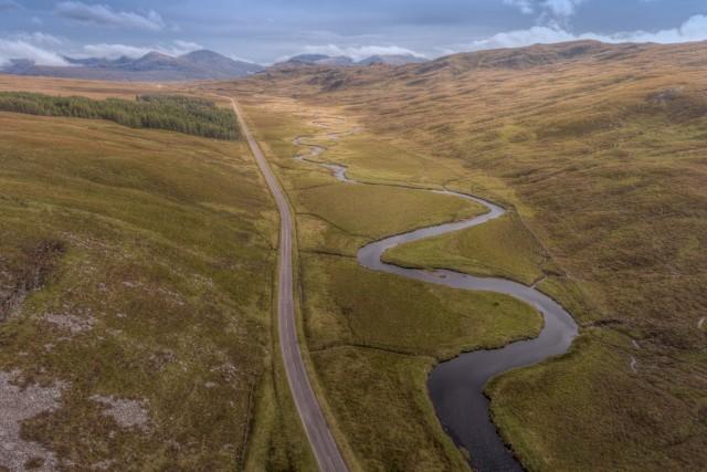 Scottish Highland Road