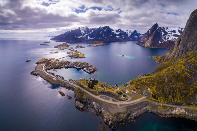 Light over Lofoten