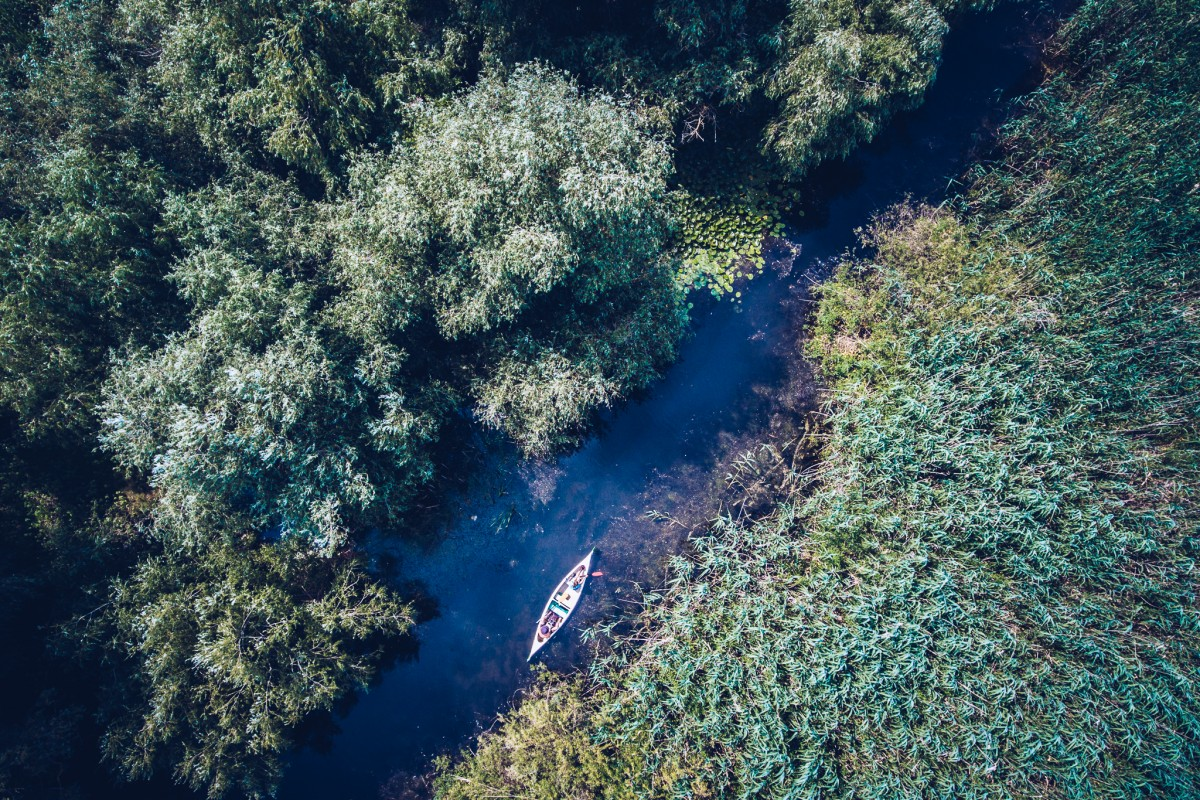 Discovering Danube Delta with a Canoe!