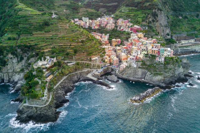 Manarola of Cinque Terre