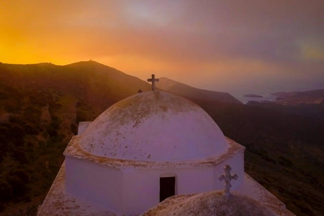 Panagia Monastery, Folegrandos Greece