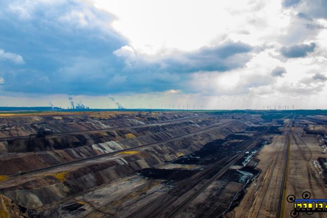 giant mines of Garzweiler