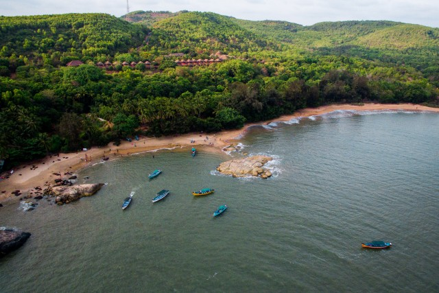 Om Beach, Gokarna, Karnataka, India