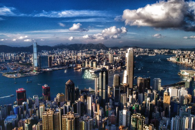 Hong Kong, Victoria Harbour
