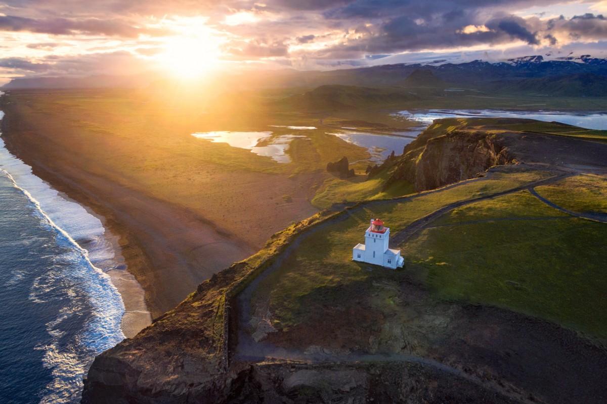 Icelandic shore