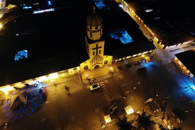 Parque de Salento Quindío (Nocturna)