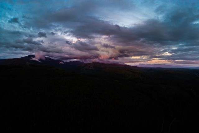Sunset in the North Cascades