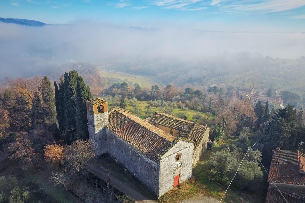 Pieve di San Michele a Groppoli – Pistoia, Tuscany – Italy