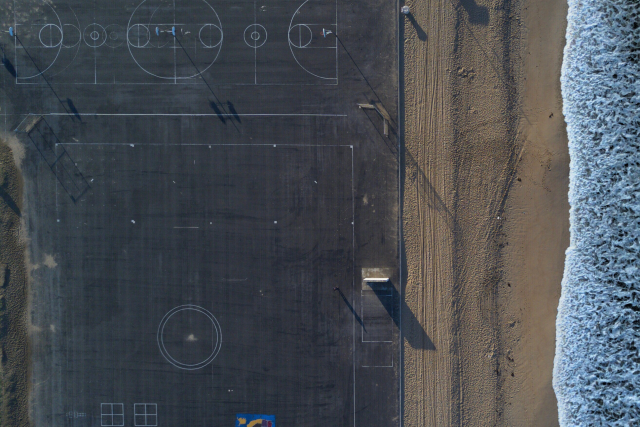 Beach Basketball in Newport Beach, CA