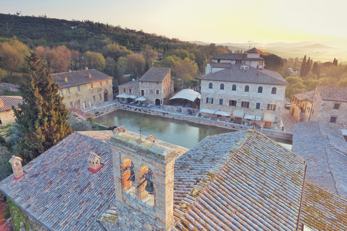 Bagno Vignoni, Tuscany – Italy