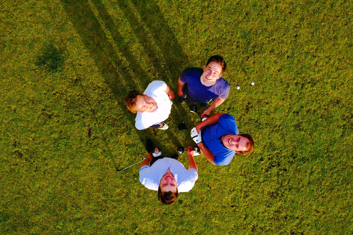 Golfing with the drone