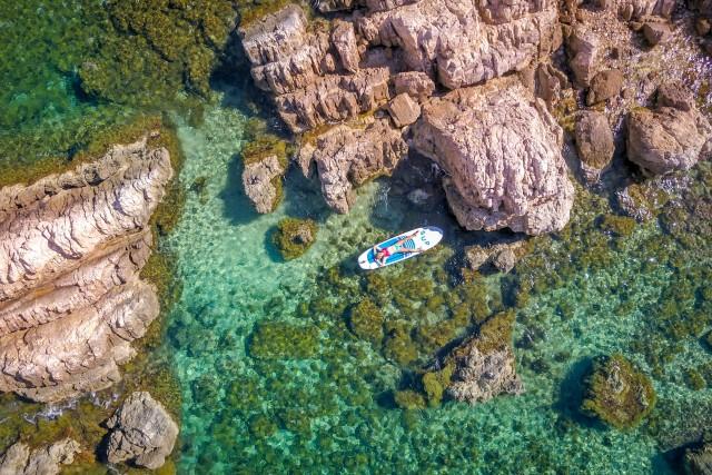 SUP, Cote d'Azur, France