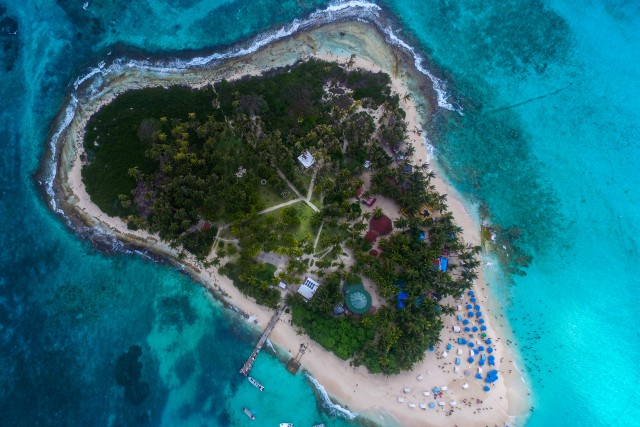 Isla Johnny Cay, San Andrés, Colombia