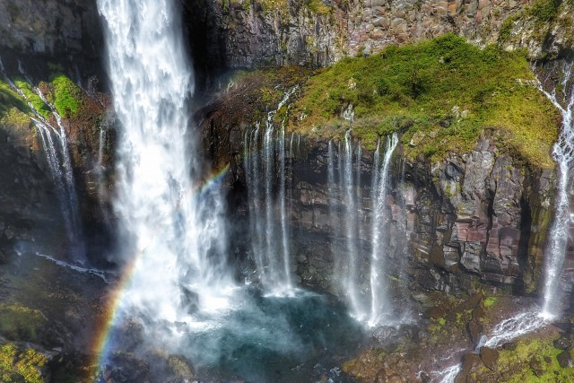 Rainbow at Keagon Falls