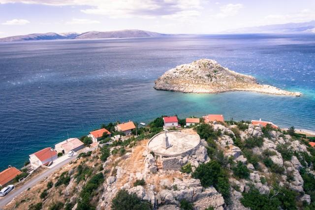 Sveti Juraj from above