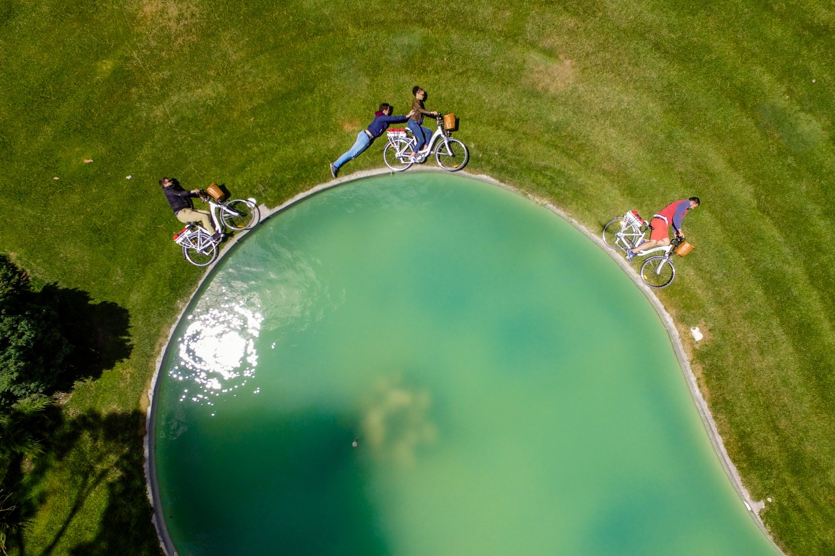 Aerial Cycling