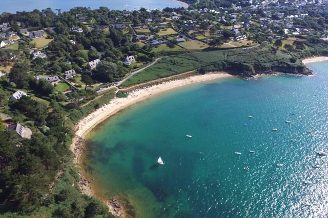 Cosmeur Beach, carantec, bretagne