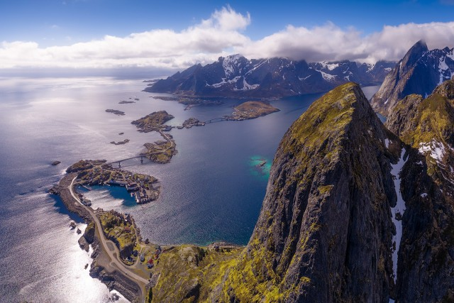 Lofoten from above