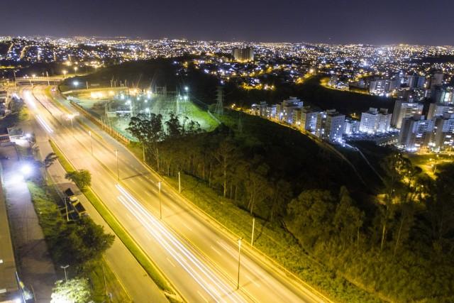 BH at night