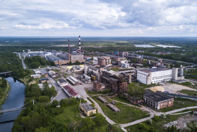 Pulp-and-paper mill
