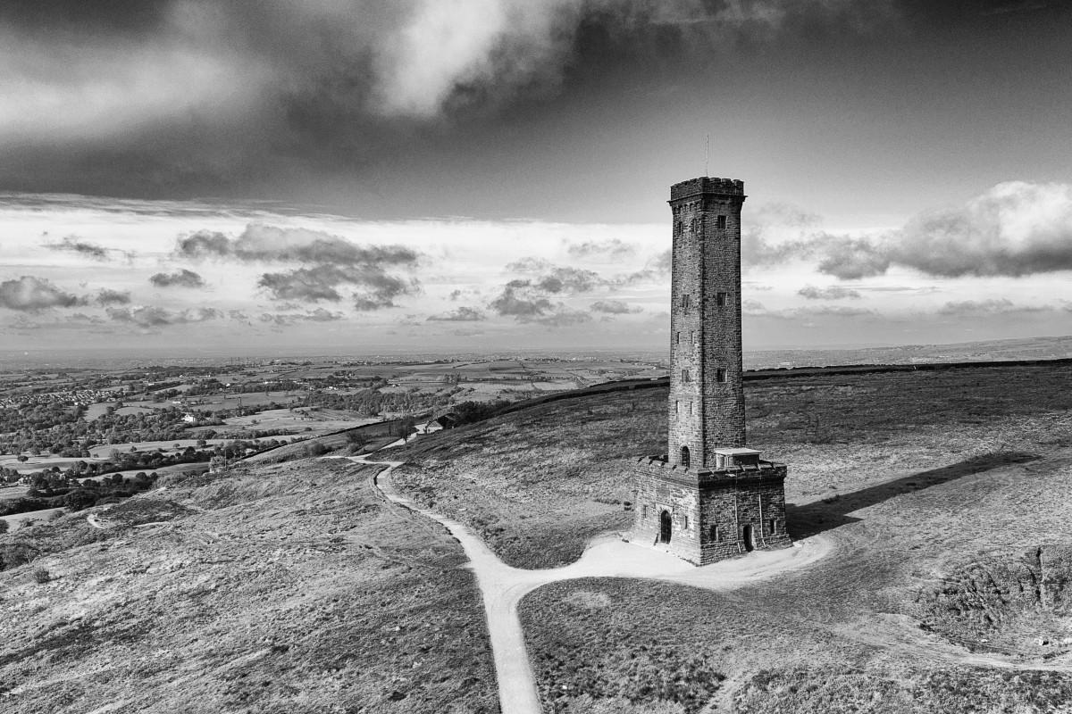 Peel Tower, Ramsbottom, nr Bury, Lancashire, England
