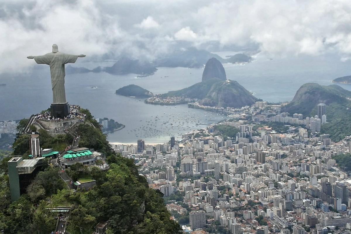 Rio de Janeiro from the Christ Redeemer.