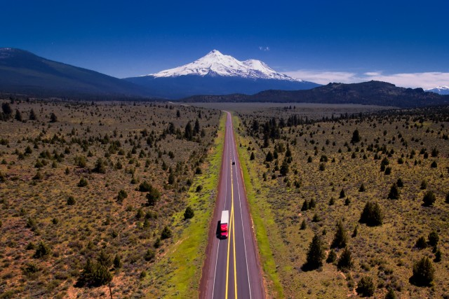 Road to Shasta