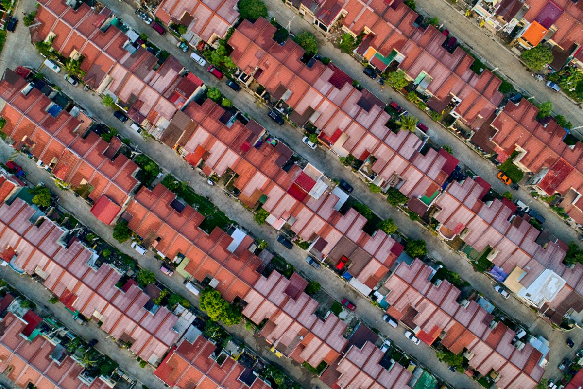 Roof Patterns at Carmona Estates