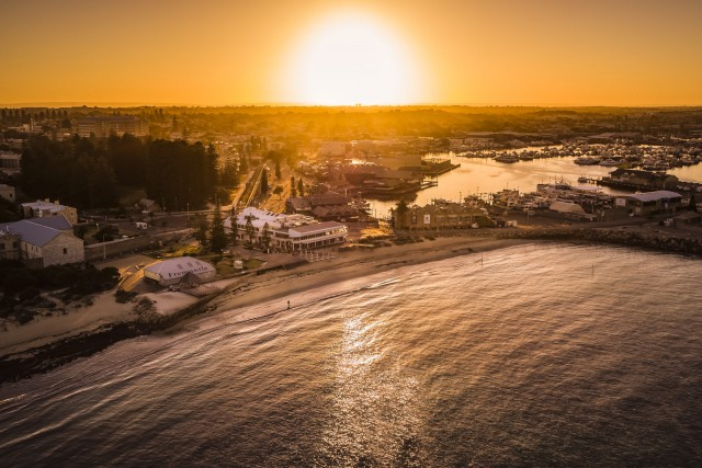 Sunrise at Bathers Beach, Perth