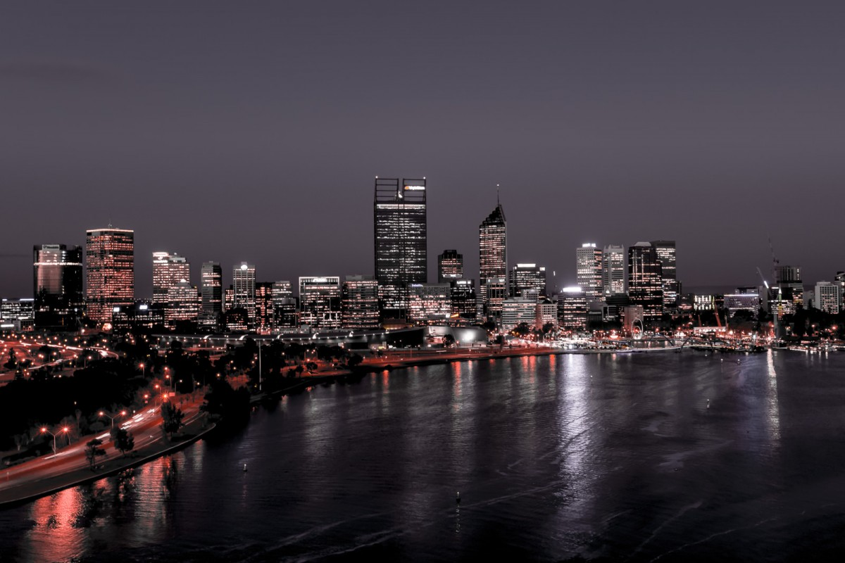 Lights of Perth City