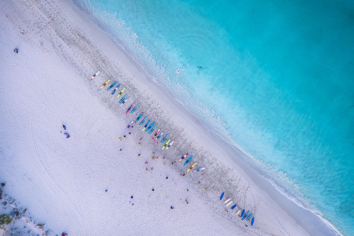 Aerial View of Fremantle Surf Life Saving Club