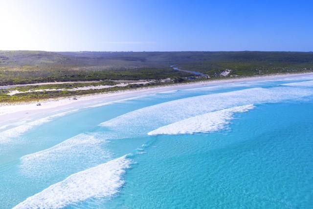 Blue waters at Yokinup Bay