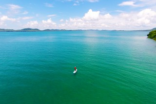 Stand-Up Paddleboard in the Andaman Sea